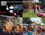 Annual report / Wisconsin Main Street,  2006 to 2007.
