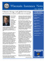 Wisconsin insurance news, Issue 2 (Spring 2008)