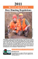 Wisconsin deer hunting regulations, 2011