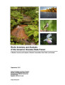 Biotic inventory and analysis of the Governor Knowles State Forest : a baseline inventory and...