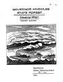 Governor Knowles State Forest master plan : concept element (Nov. 1988)