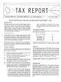 Tax report : sales/use tax (Aug. 1969)
