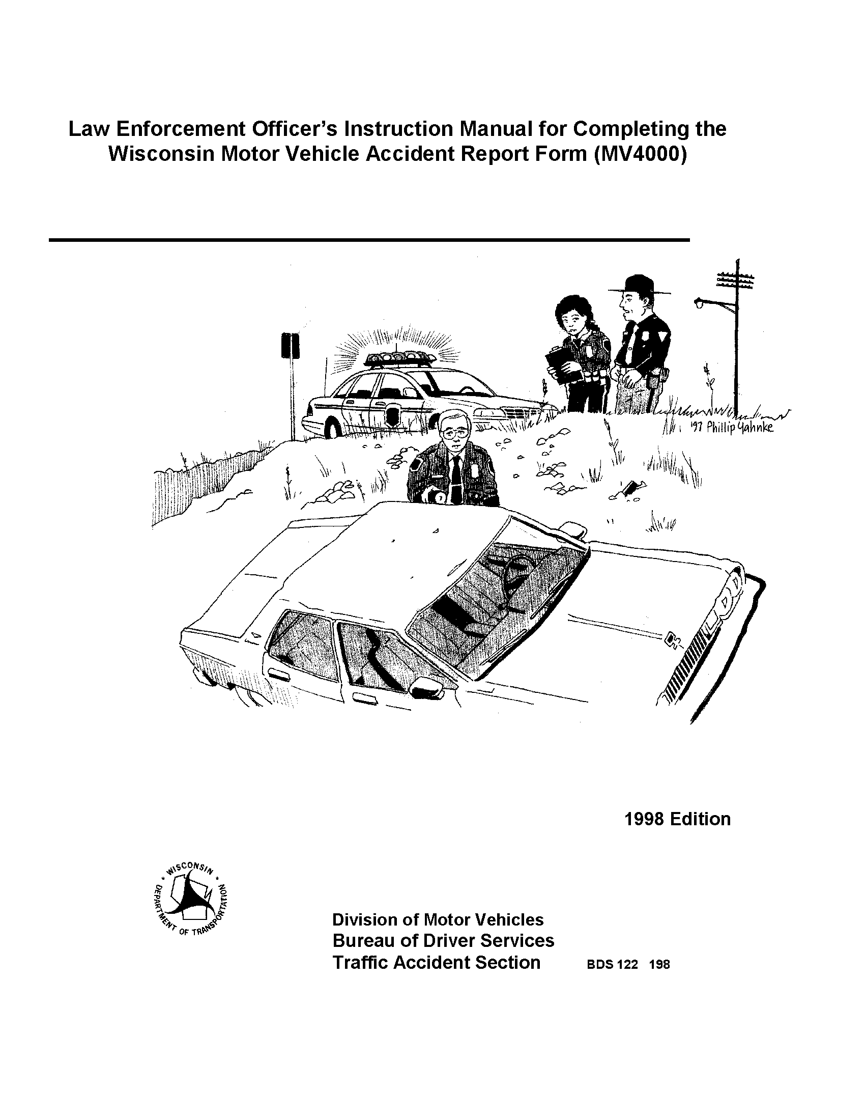 Law enforcement officer\'s instruction manual for completing the ...